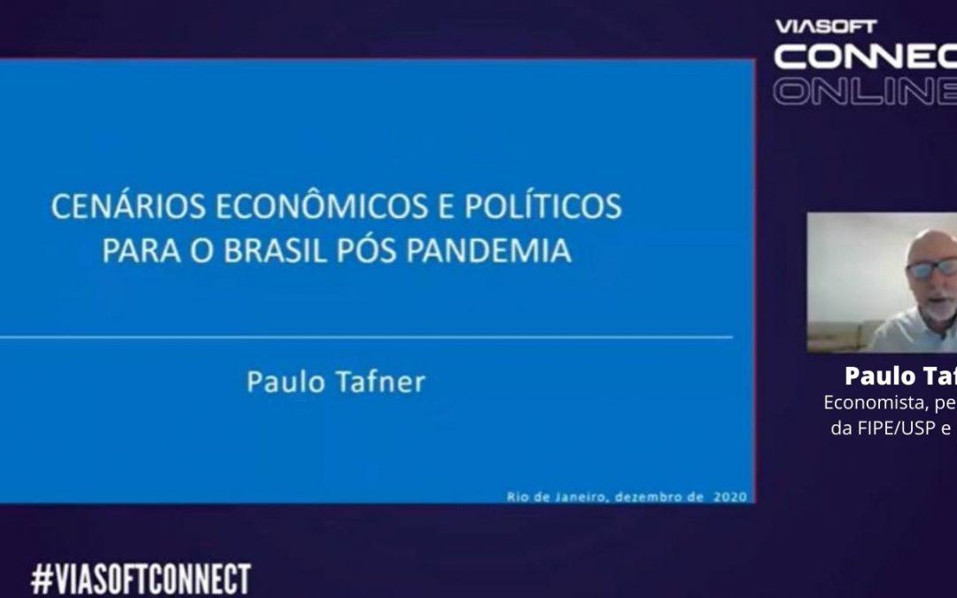 """""""É possível que tenhamos um 2021 de alegria e prosperidade"""": economista Paulo Tafner analisa cenários da economia para o próximo ano"""